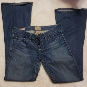 2/$15 William Rast Daisy Super Flare Jeans sz 26